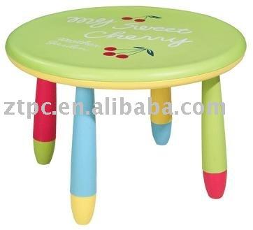 De dibujos animados de pl stico reposteria kid 39 s mesas for Mesas de colores para ninos