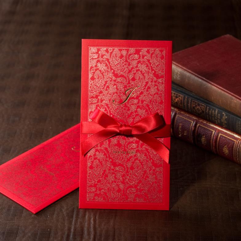 Wedding Invitations High End: Korean High End Custom Invitations Greeting