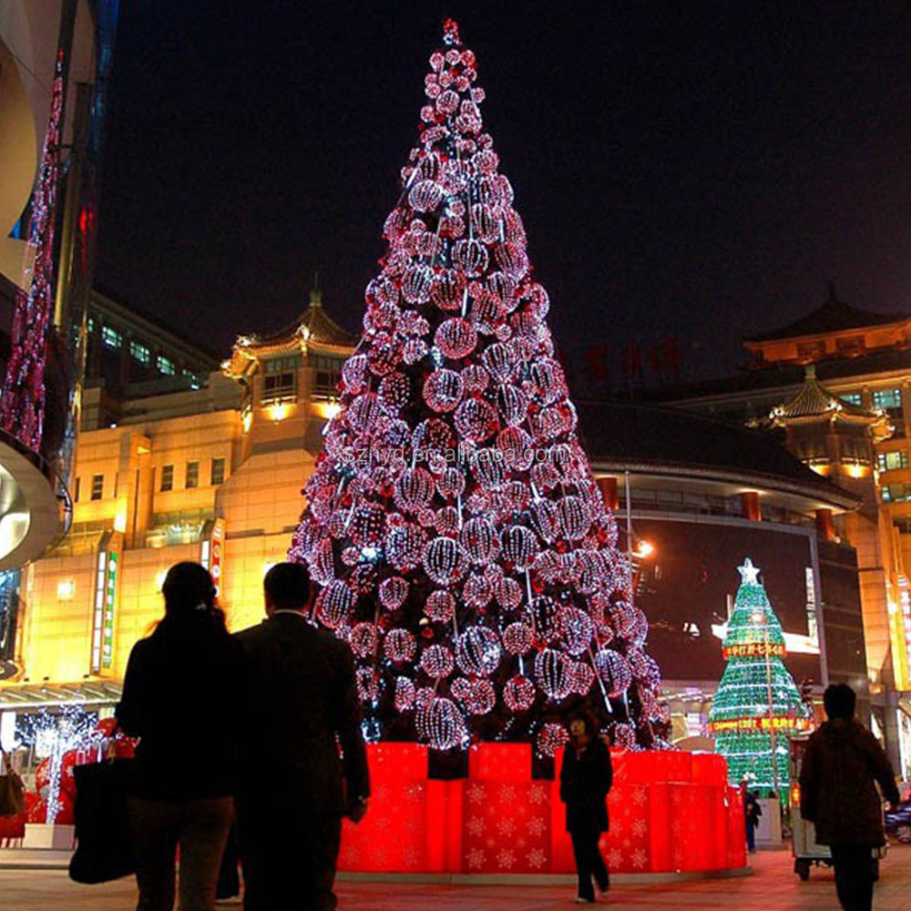 Outdoor led christmas tree artificial wedding tree for shopping outdoor led christmas tree artificial wedding tree for shopping mall giant outdoor led christmas tree aloadofball Gallery