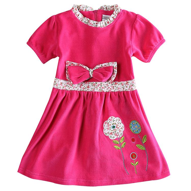 Buy Baby clothes winter dresses girls dress nova kids wear ...