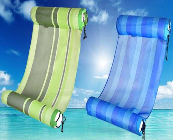 Water Floating Inflatable Hammock