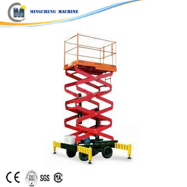 Supply safety device 3 meter hydraulic pallet lift table
