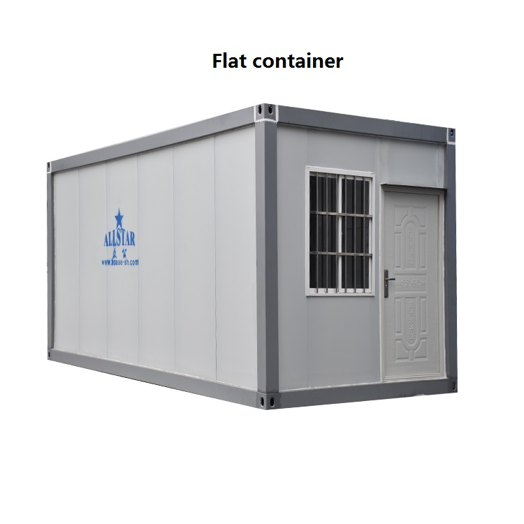 flat container