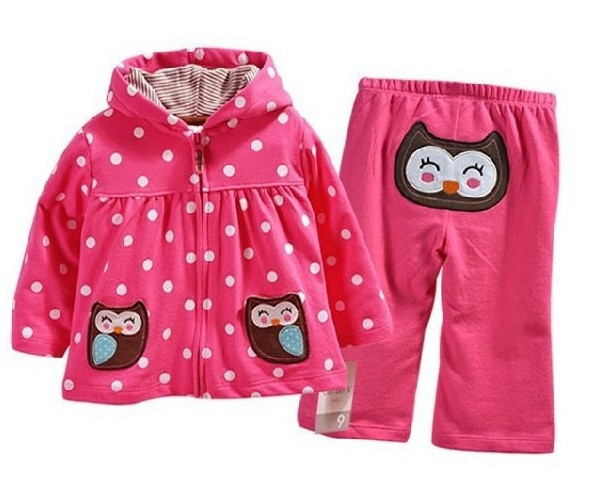 Carters,new 2015,autumn spring baby girl clothing set,newborn,baby girl clothes,baby outwear,children hoodies,suit for kids