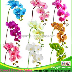 Wholesale aritificial orchids for wedding table decoration