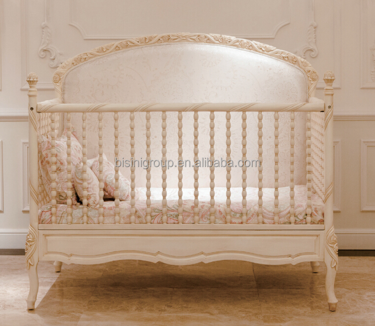 French Baby Furniture In Bisini Royal Baby Custom Made Wood Crib French Style Elegant Oversized Bedroom Furniture Cribfrench