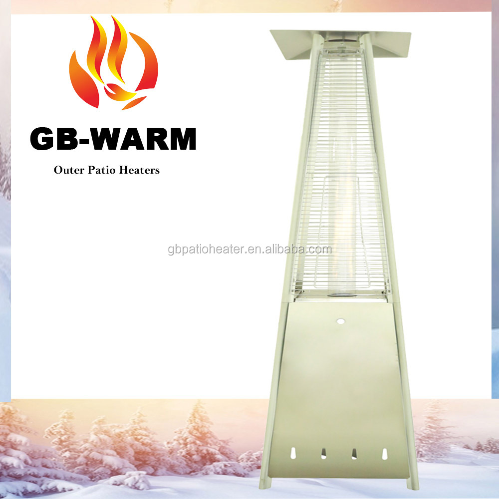 pyramid patio heater natural gas - modern patio - Patio Heating Ideas