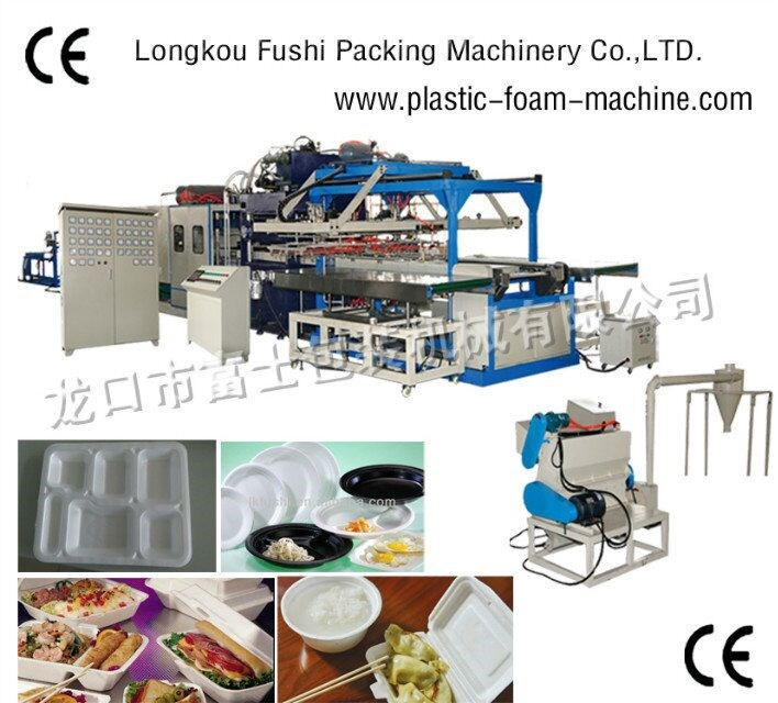 New Condition and EPS/PS Fast Food Box Product Type disposable foam plate/dishes making machine