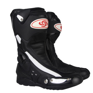 Motorcycle Riders Leather Motorcycle Riding Boots