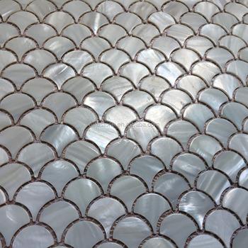 Fischschuppen Perlmutt Muschel Mosaik Fliesen Buy Fischschuppen