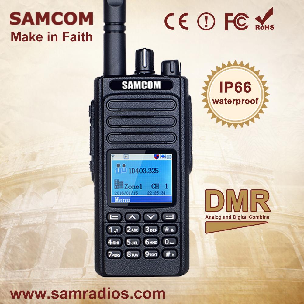 Samcom Dp 20 Dmr Digital Two Way Radio With Ip67 Waterproof Buy Dmr Radio,Dmr Digital Radio,Dmr Two Way Radio Product on