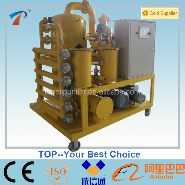 More Quickly and Completely Dewater/Degas/Remove Particle Double-Stage Vacuum Transformer Oil Purify Machine