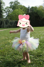 Fashion Rainbow Tutu Skirt for Girls new design fluffy baby skirt pettiskirt for wholesale