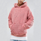 High Quality Man Sweater Sherpa Fleece Pullover Polyester Hoodie