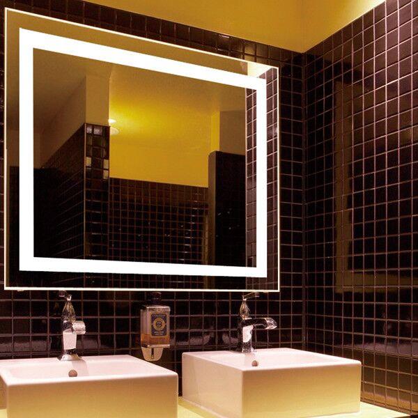 Usa Hot Sell Hotel Furniture 48 X 36 Inch Led Smart Bathroom Make