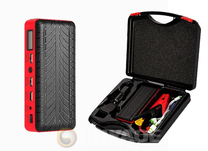 LCD screen battery car jumper multi purpose jump starter 18000mah car power station battery 600a