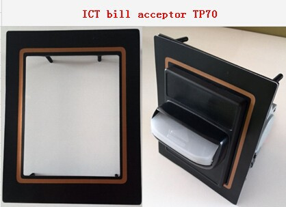 Hot sale for game machine TP70 ICT bill acceptor money acceptor