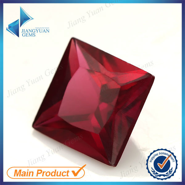 Hot sell 8# ruby red gemstone names