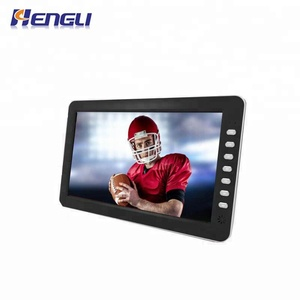 HD Portable TV 10 Inch Digital And Analog Led Televisions Support TF Card USB Audio Car Television DVB-T DVB-T2