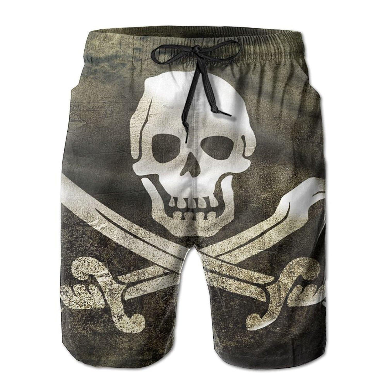 Mens Octopus Pi Sky Quick Dry Swim Trunks Board Shorts Beach Shorts