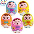 Baby Toys Brinquedos para Bebe Matlyoshka Tumbler Doll Boneca Baby Rattles Gifts Cute Facial Expression Original