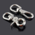 Paracord Accessories Shiny Zinc Alloy Seed Shape Buckle Clip Lobster Clasps Hook Leash Clasp&Hook