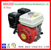 200cc 6.5hp Mini Single Cylinder Honda Design Gasoline Outboard Engine For Home