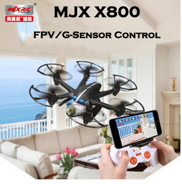MJX X800 SYNC IMAGE 2.4G 6-Axis RC Quadcopter Drone RC helicopter With C4005 Wifi Camera FPV