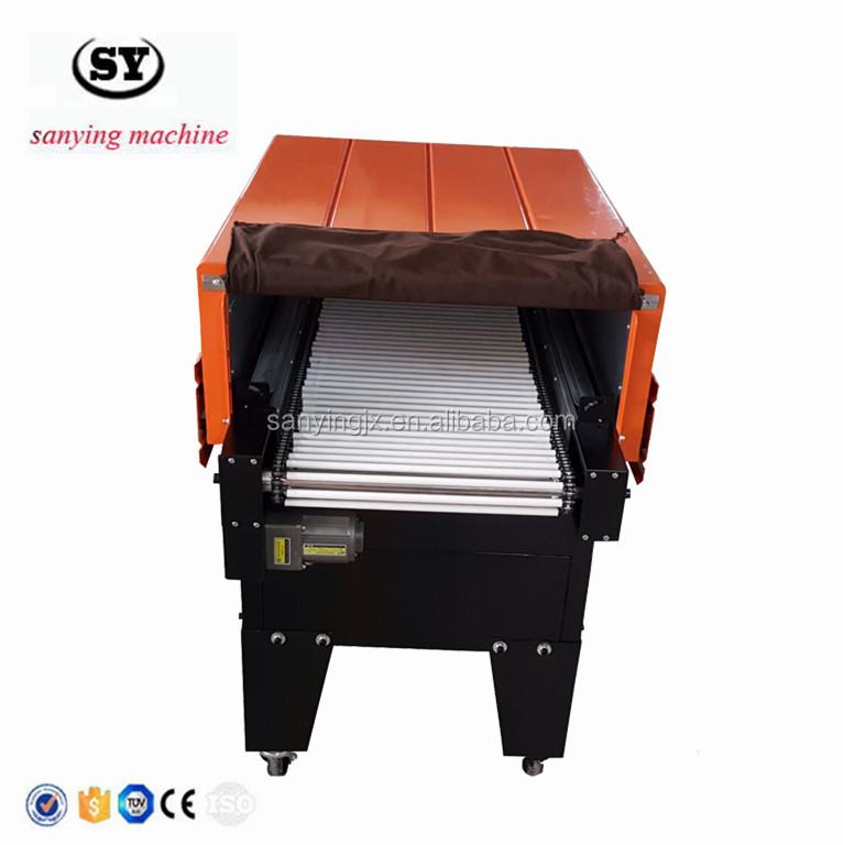 BS4525 Jet Heat Tunnel Film Shrink Wrapping Machine
