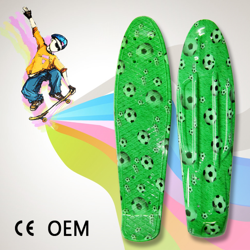 custom bamboo plastic longboard skateboards wholesale
