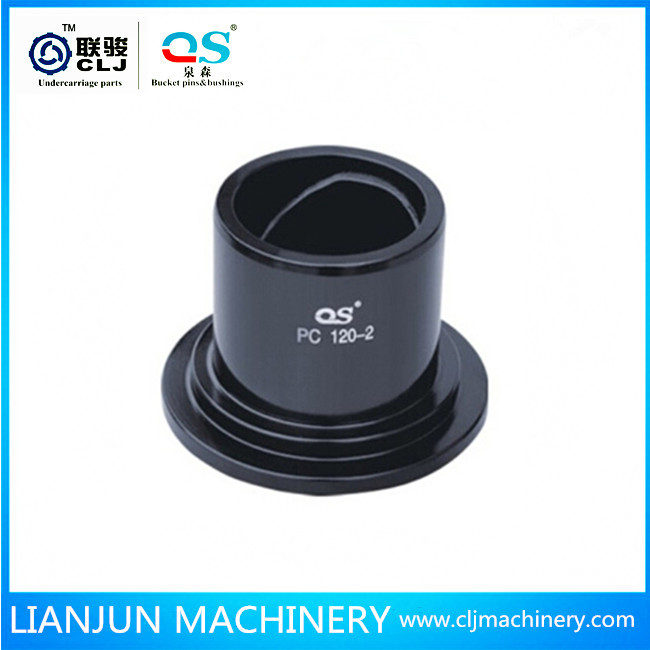 earth mover machinery parts bucket bush steel 40Cr material strong hardness excavator bushing sleeve bearing