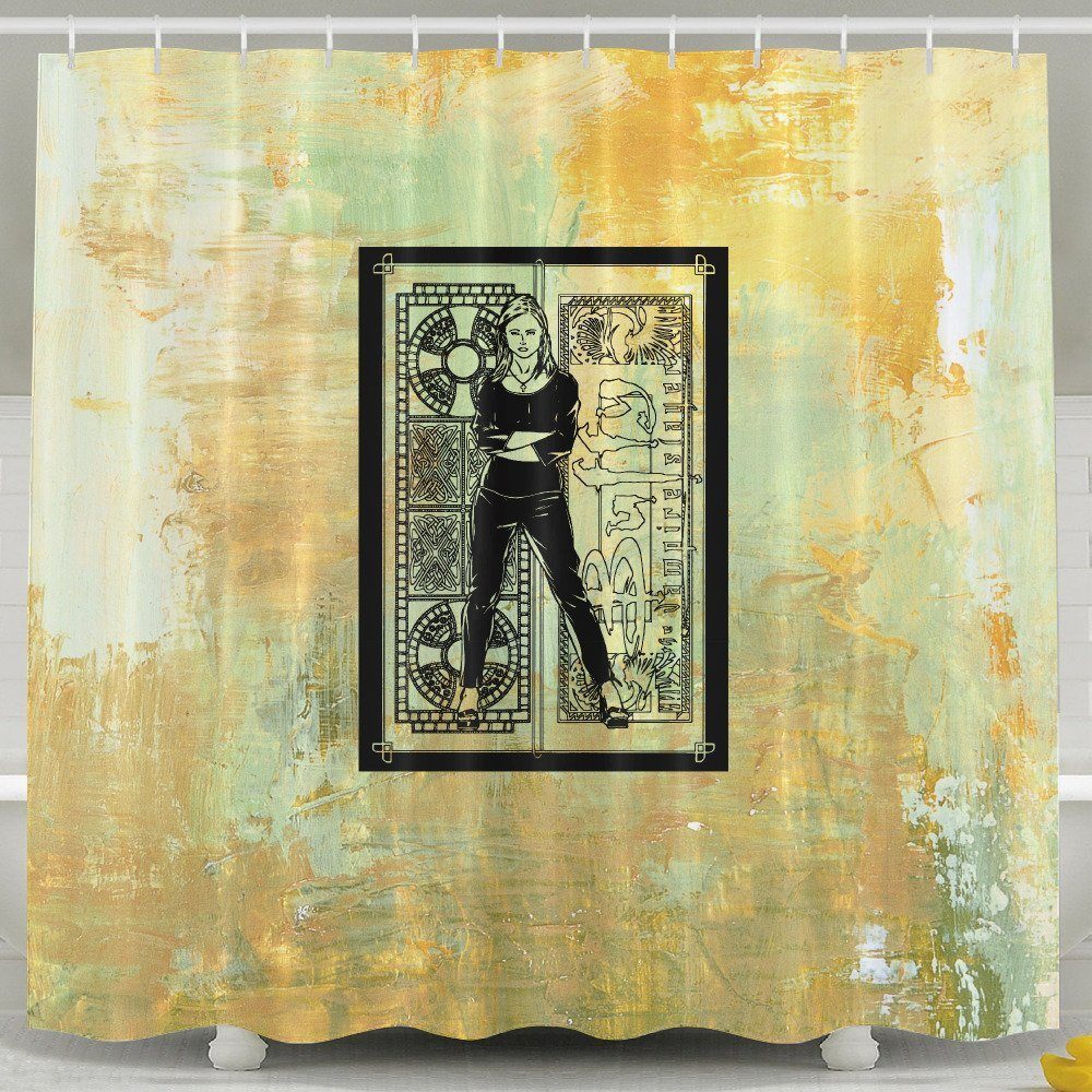 Get Quotations Memoy Vampire Slayer Buffy Mildew Resistant Bathroom Shower Curtain For Home Traval Hotel With Hooks