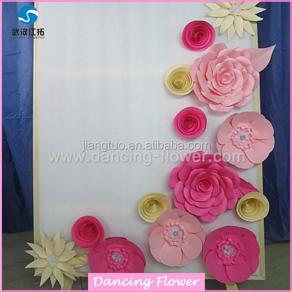 Handmade Paper Flowers Arrangements For Wall W 26