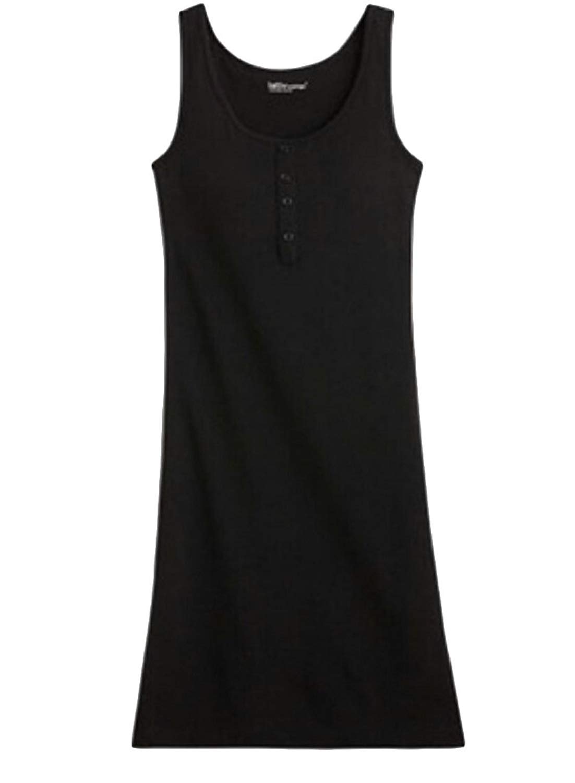 cec325a8d3 Get Quotations · Qiangjinjiu Womens Built in Bra Sleepwear Pajama Tank Tops Dress  Nightgown