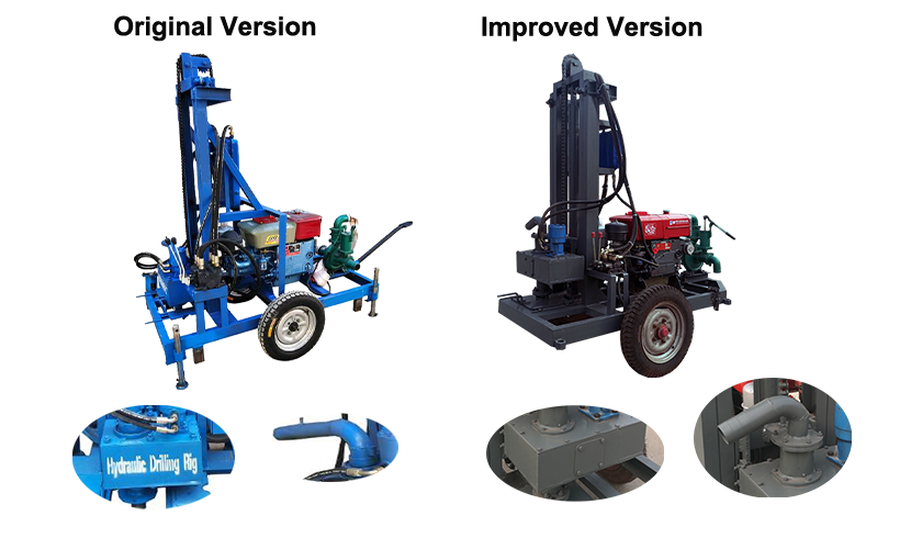 Rush sale  AKL-150Y diesel engine hydraulic portable water drilling machine in Philippines