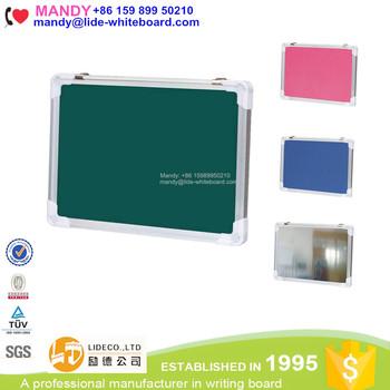 Magnetic Black Bulletin Board,36 X 24 Inches,Aluminum Framed ...