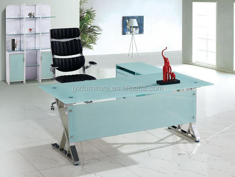 glass office table long glass corner desk desk suppliers and manufacturers at alibabacom