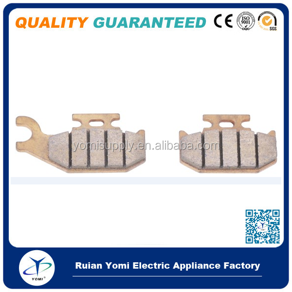 Sintered ATV brake pad for ATV Motorcycle Scooter Pitbike Motorbike UTV Sintering brake pads