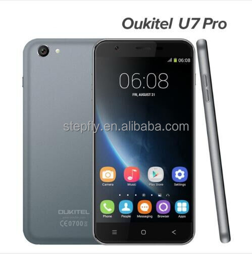 5.5 Inch Dual <strong>SIM</strong> 3G Android mobile phone OUKITEL U7 Pro With Android 5.1 MTK6580 Quad Core 1GB 8GB smartphone