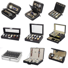 YIWU DECENT Over 40 Designs Wholesale PU Leather Watch Storage Boxes