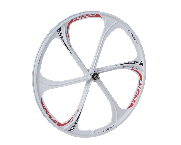 heat resistant energy saving 6 spoke bicycle wheel for fixed gear bike