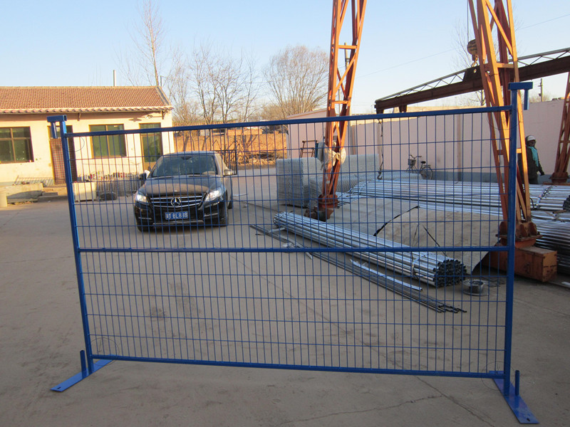 Canada Standard Perimeter Patrol Temporary Construction Fence /wire Fence  Panels For Job Site Security - Buy Steel Fence Panels/constrution Powder