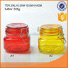Hot sale economic & small capacity glass storage jar set with reasonable price