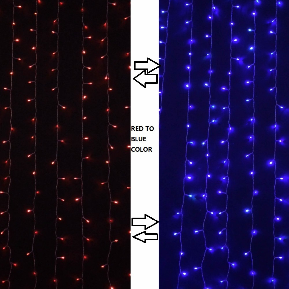 wholesale 2 2m 160 leds window curtain icicle lights. Black Bedroom Furniture Sets. Home Design Ideas