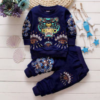 2017 foreign trade hot spring and autumn children's clothing,baby cotton suit 0-4-year-old tiger pattern casual sweater