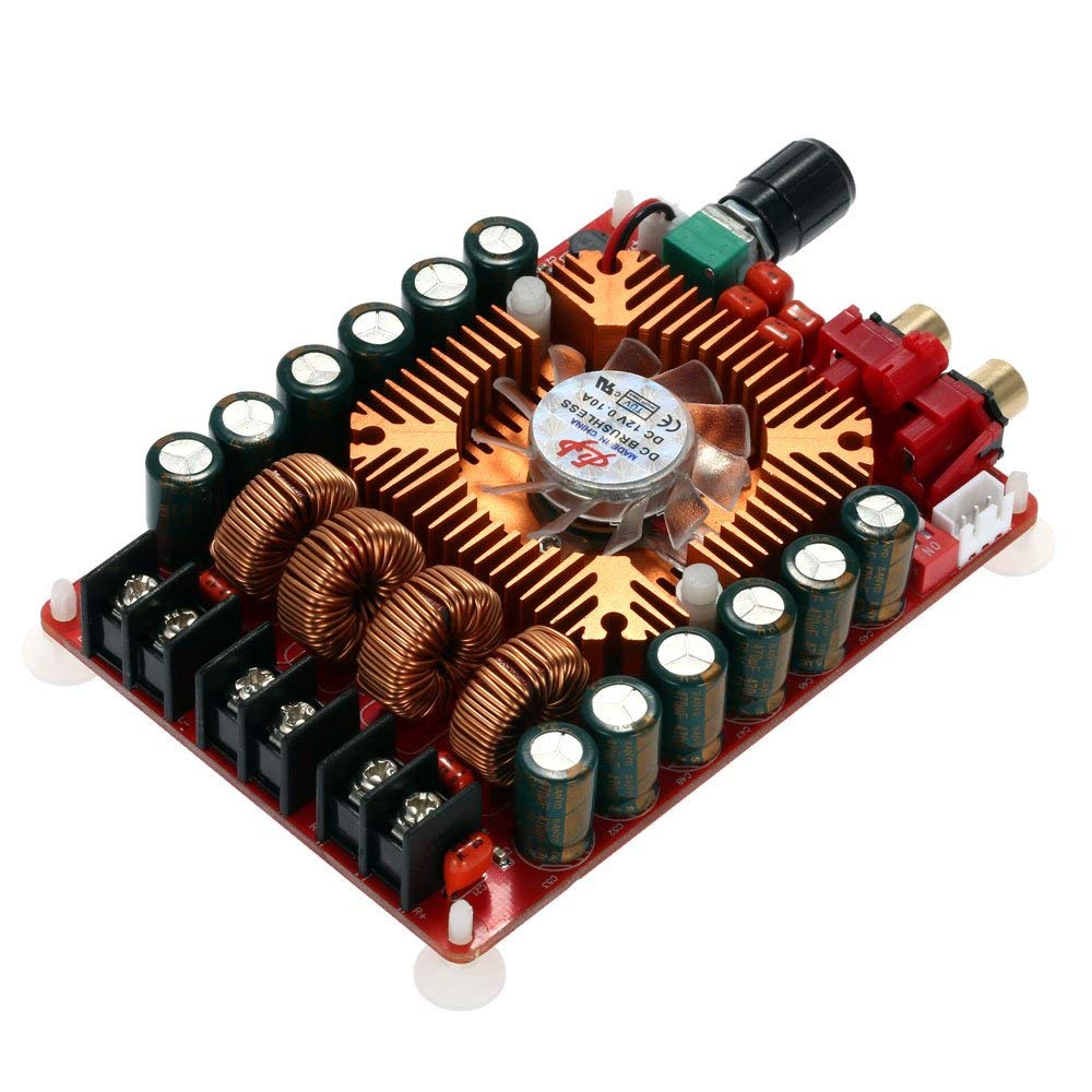 Walmeck High Power Digital Amplifier Board TDA7498E 2160W Dual Channel Audio Stereo Support BTL Mode Mono 220W