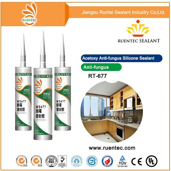 RTV non-corrosive white structural silicone weathering sealant/ clear coat for silicone sealant adhesive