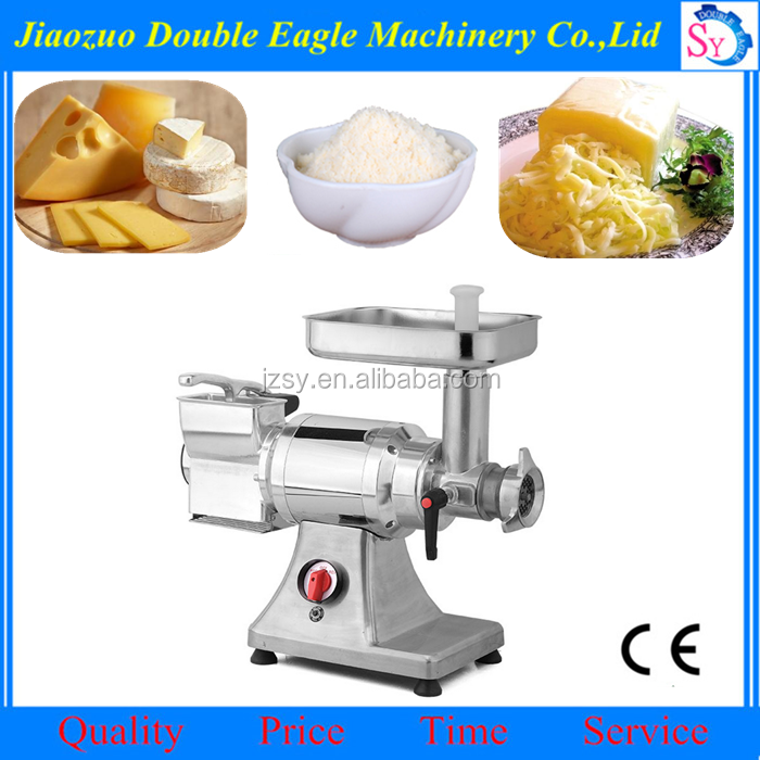 Electric Double heads cream grater machine/good quality butter slicer maker price