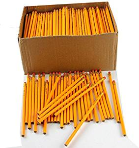 Yellow #2 Pencils In Bulk - 576 Count (576 Pieces) - #2 Yellow Pencils Bulk Pack.Bulk Yellow #2 Pencils With Erasers.Quantity: 576 Per Master Caselead Type: #2 Graphitefeature: Unsharpened