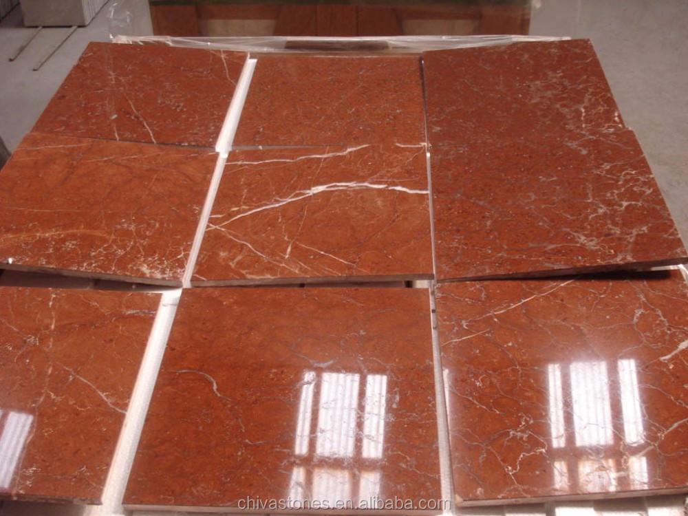 Pavimento Marmo Rosso : Rosso alicante lastre per pavimenti in piastrelle di marmo marmo